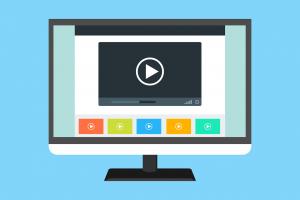tampilan iklan promosi melalui konten video